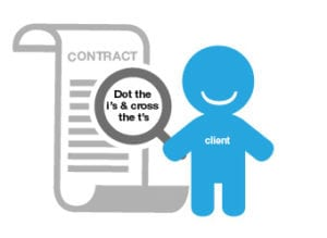 Be sure to align contractual documentation