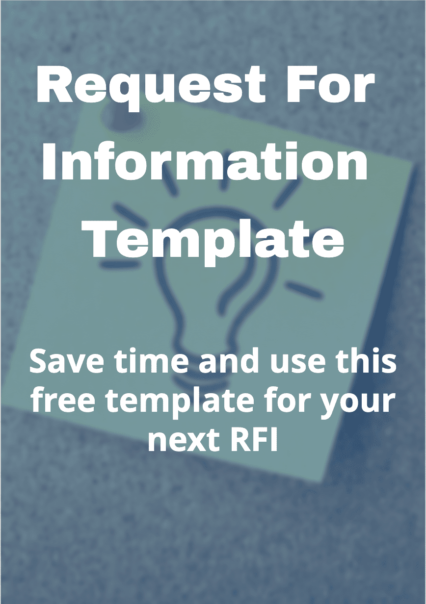RFI request for information template